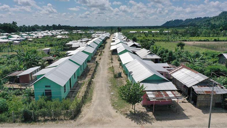 Govt begins resettlement of Chakma families